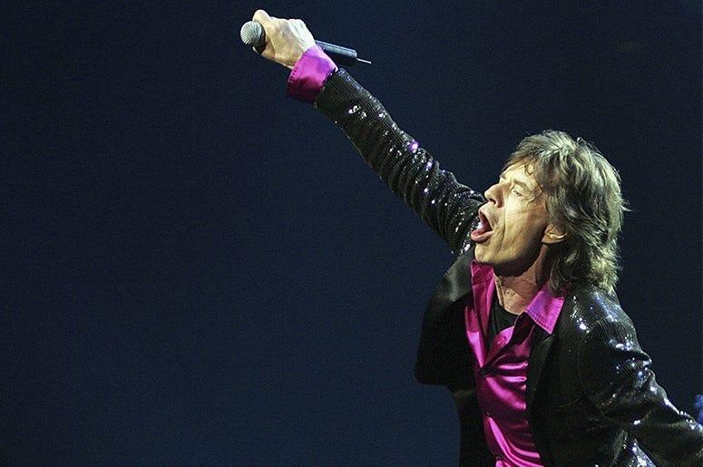 Mick Jagger, Japan