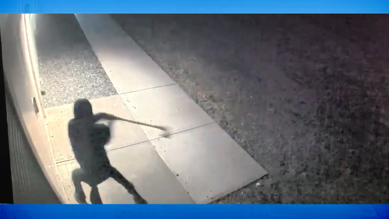 Screenshot of suspect on video surveillance