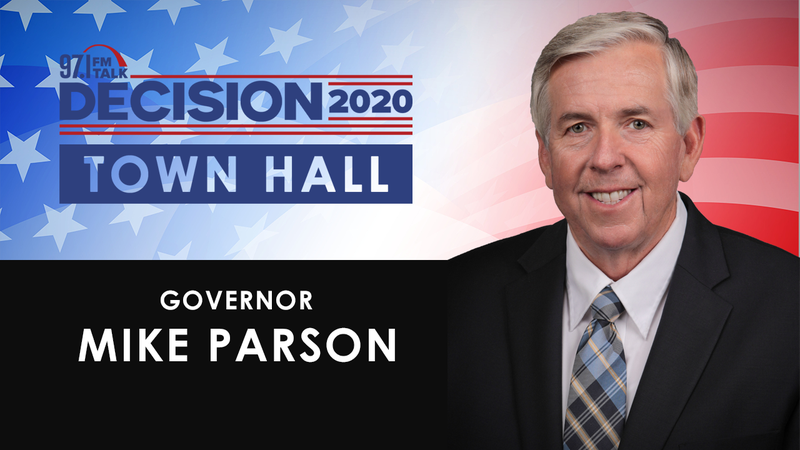 Mike Parson Town hall