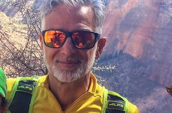 Fred Zalokar went missing July 17, 2021 at Yosemite during a day hike.