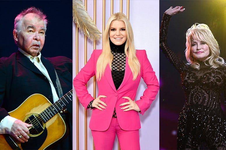 John Prine, Jessica Simpson, Dolly Parton