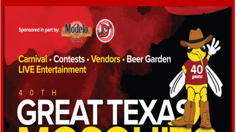 40th Great Texas Mosquito Fest 2021