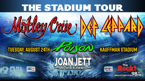 Def Leppard & Motley Crue with Poison and Joan Jett & The Blackhearts