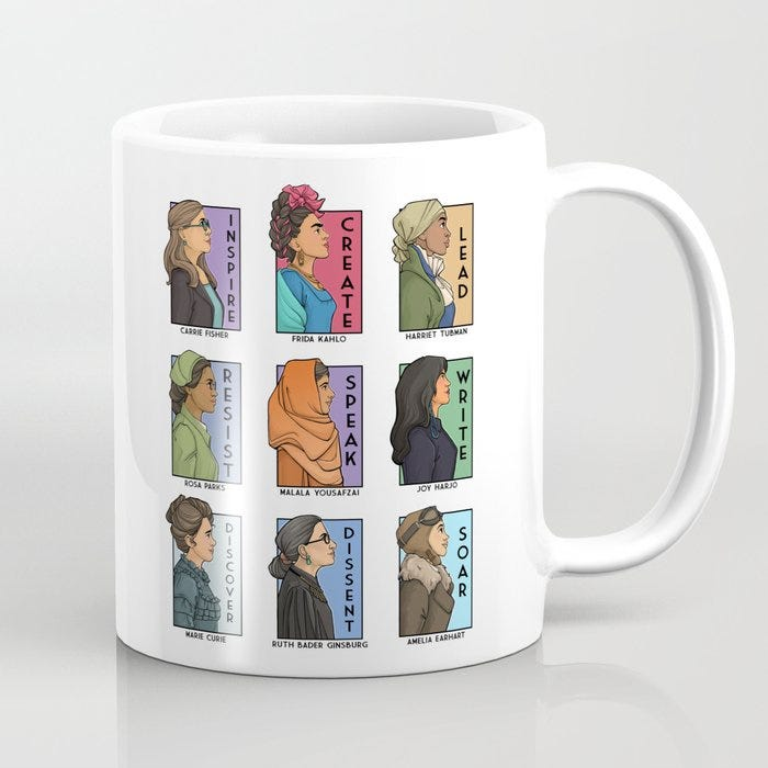 She Series Collage - Real Women Version Mug