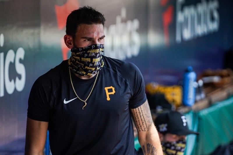 Joe Musgrove wearing mask