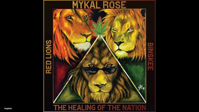 Mykal Rose Red Lions CD