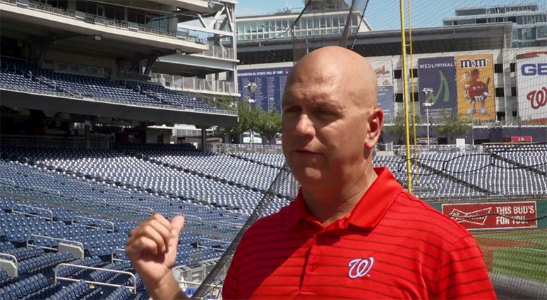 New protective netting at Nats Park extends nearly to foul poles