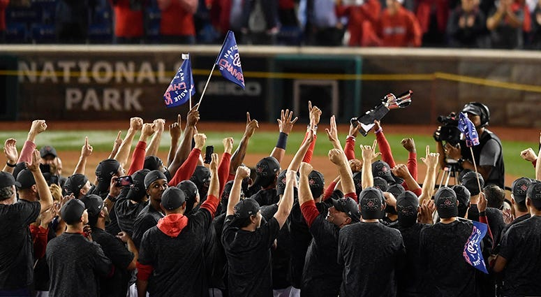 Nationals Win National League Pennant