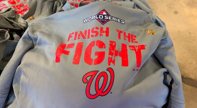 Nationals World Series Hooded Sweatshirt