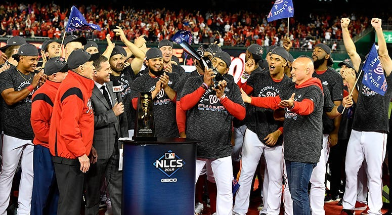 Dave Martinez NLCS Trophy