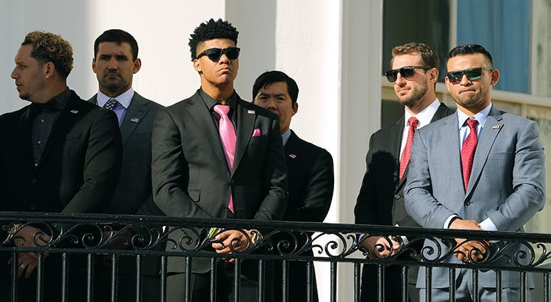 Nationals' White House Visit