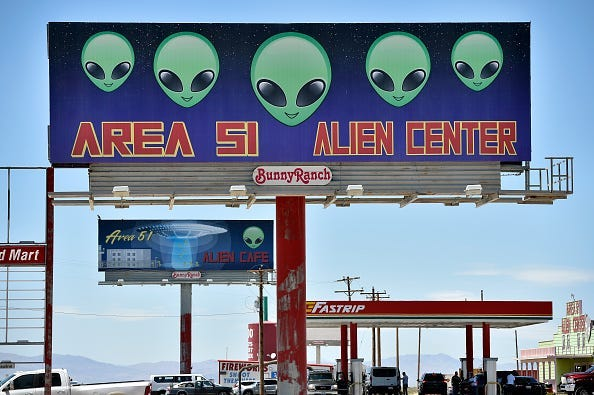 Aliens Are Here