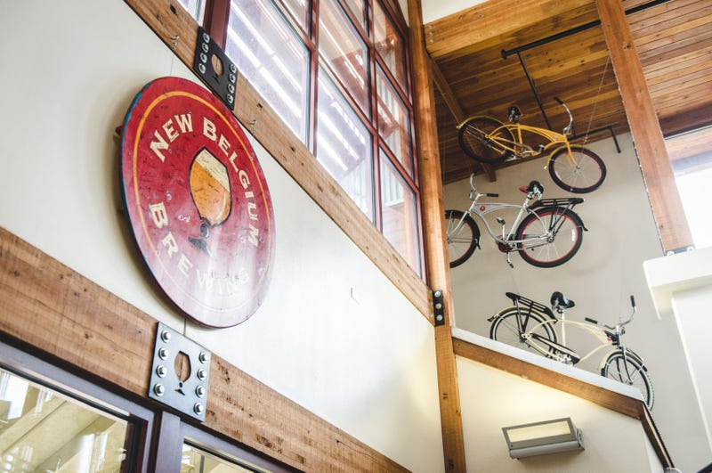 Inside New Belgium's brewery