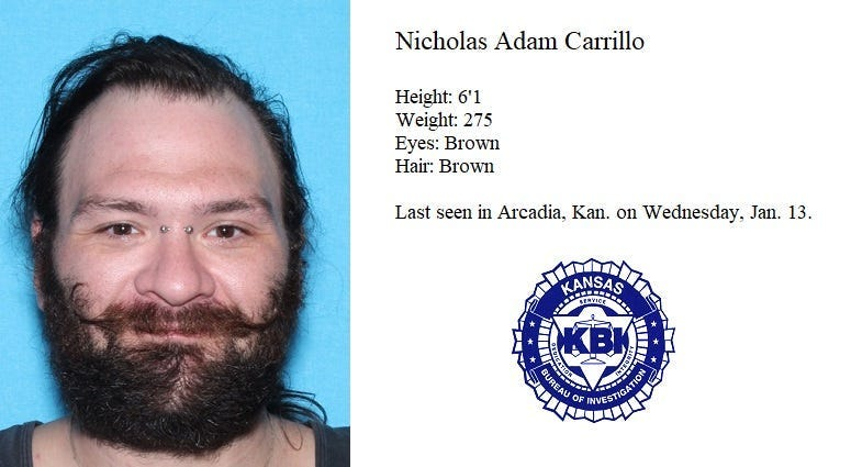 KBI searcing for person of interest in death investigation