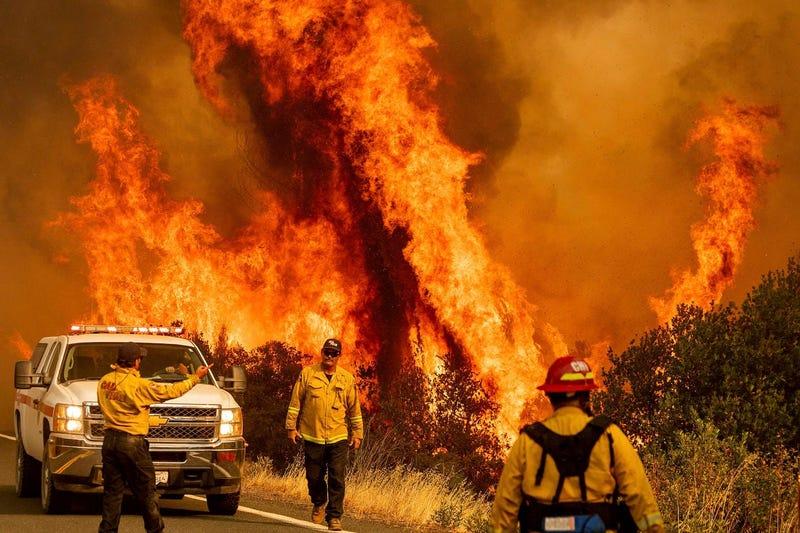 Lake County, CA Fire (AP)