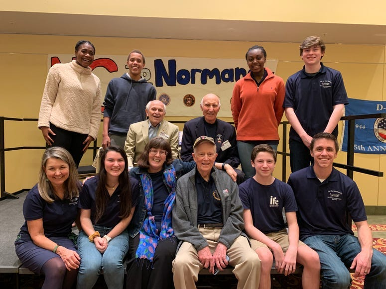 NC to Normandy group