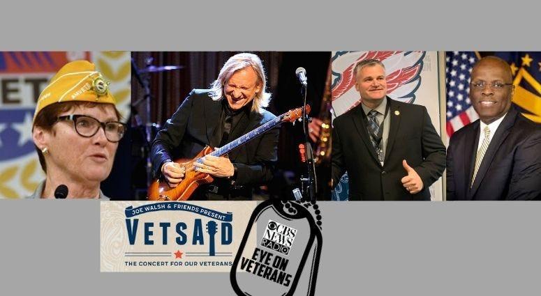 CBS Eye on Veterans featuring Joe Walsh, Larry Stubblefield, Jan Brown and Brian Tally