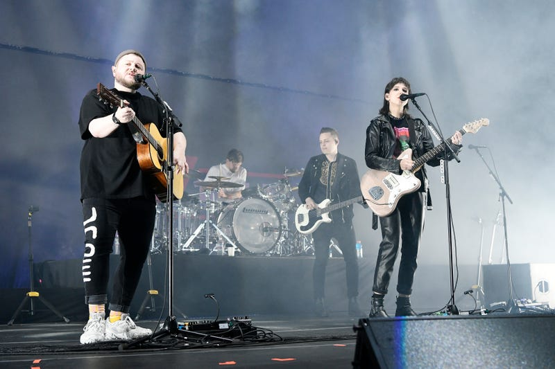 """Of Monsters and Men perform onstage at """"Not So Silent Night,"""" a RADIO.COM Event, at SAP Center on December 07, 2019"""
