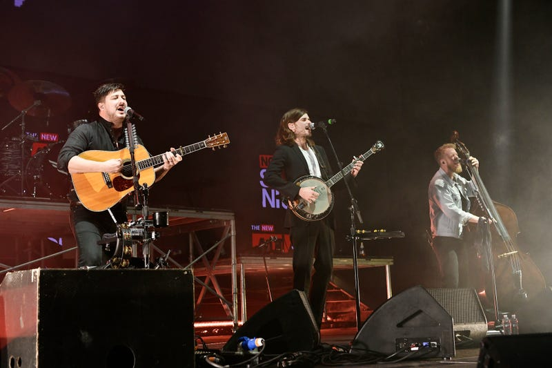 """Mumford & Sons perform onstage at """"Not So Silent Night,"""" a RADIO.COM Event, at SAP Center on December 07, 2019"""