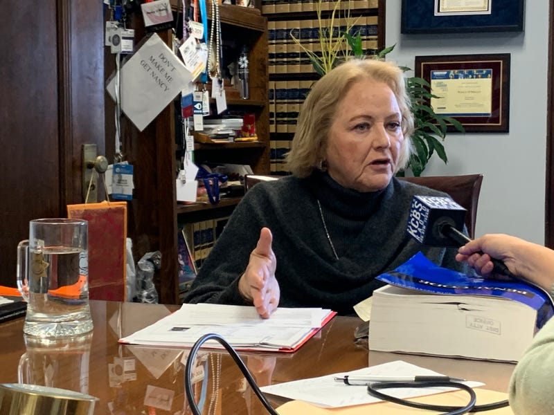 Alameda County District Attorney Nancy O'Malley discusses jury attitudes towards homeless defendants in December 2019.