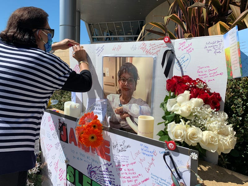 Coworkers, loved ones gather to remember Janine Paiste-Ponder, Oakland nurse who died of COVID-19