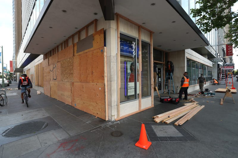 Calm night in Oakland as police decline to enforce curfew; small businesses take stock after months of obstacles