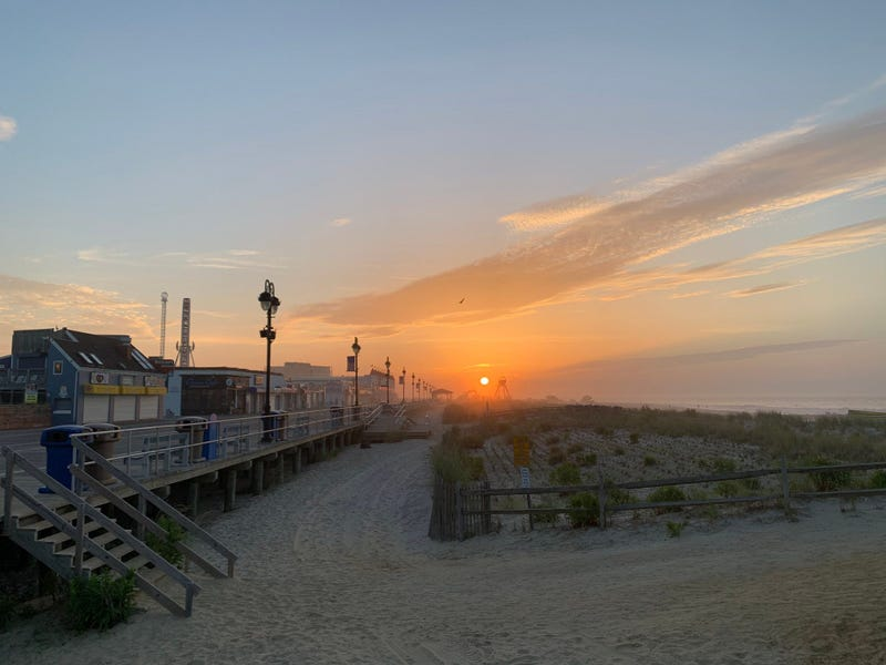 Beautiful morning in Ocean City