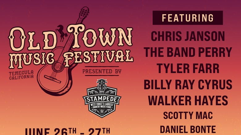 Old Town Music Festival Presented By The Stampede