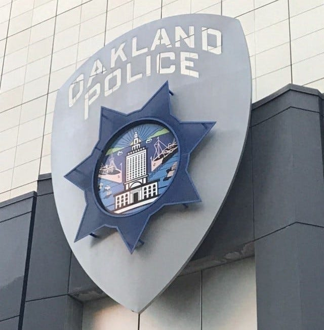 The Oakland Police Department found nine officers were engaging with an offensive Instagram account.