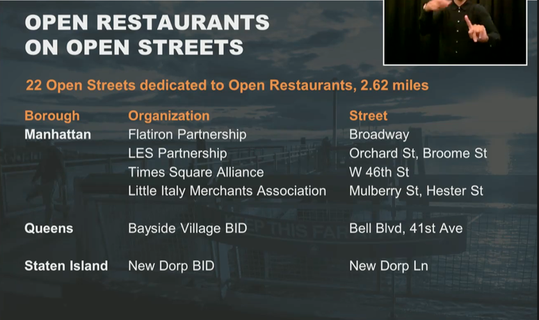 Open Restaurants