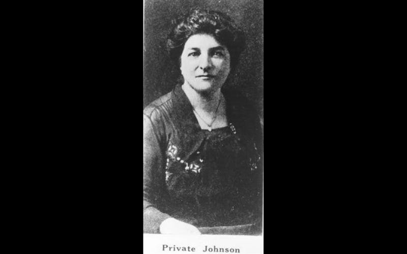 Opha Mae Johnson was the first woman to serve in the United States Marine Corps