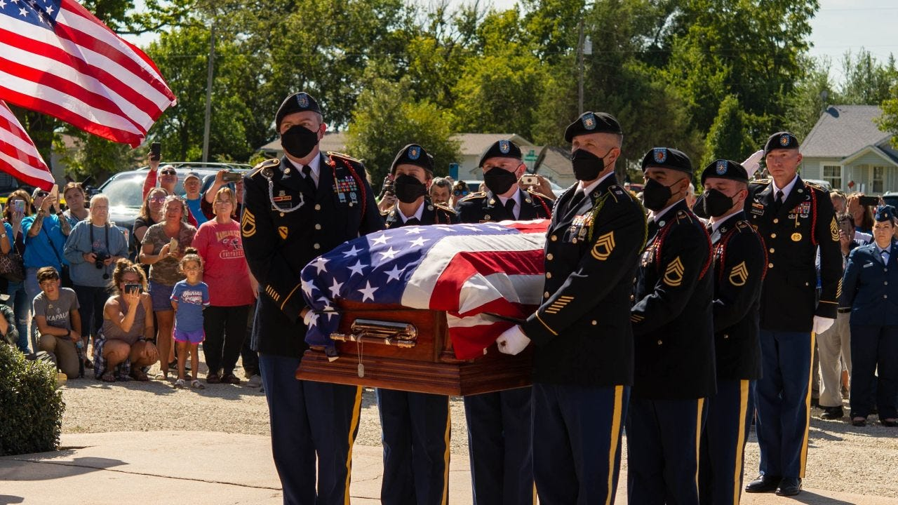 Family, friends attend homecoming for Chaplain Kapaun
