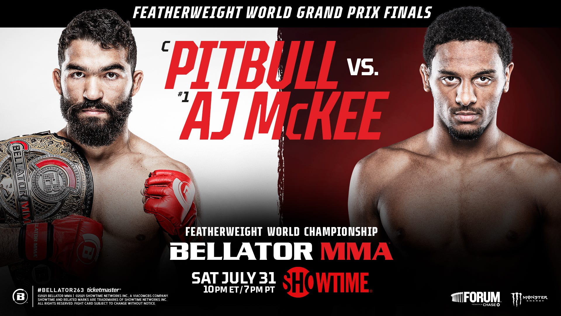 Win a Pair of Tickets to Bellator MMA263 at the Forum!
