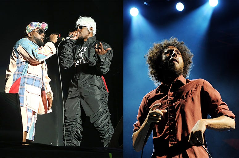 Outkast and Zack de la Rocha