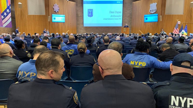 NYPD pre-Passover briefing