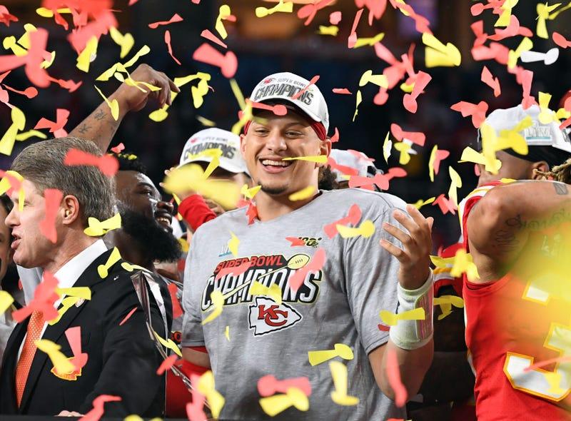 Patrick Mahomes Chiefs Super Bowl