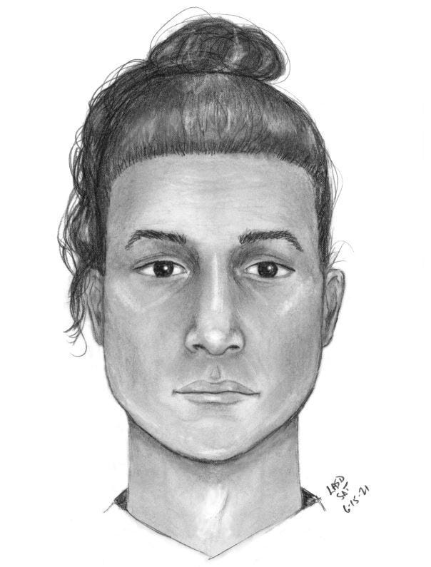 LA Sheriff's Department is asking for the public's help in identifying this person of interest in an abandoned baby in Lynwood on June 11.