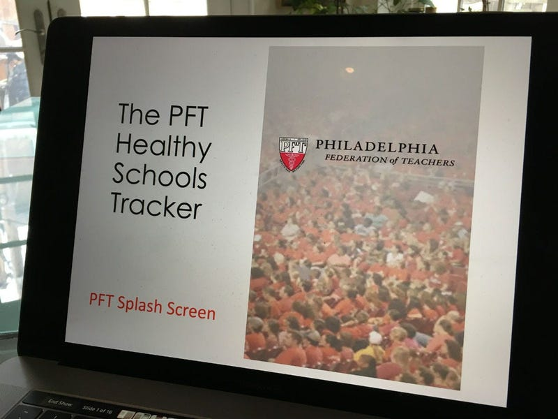 PFT Healthy Schools Tracker app demonstration