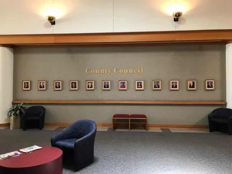 Photos at County Square of County Council Members - Emily Gill