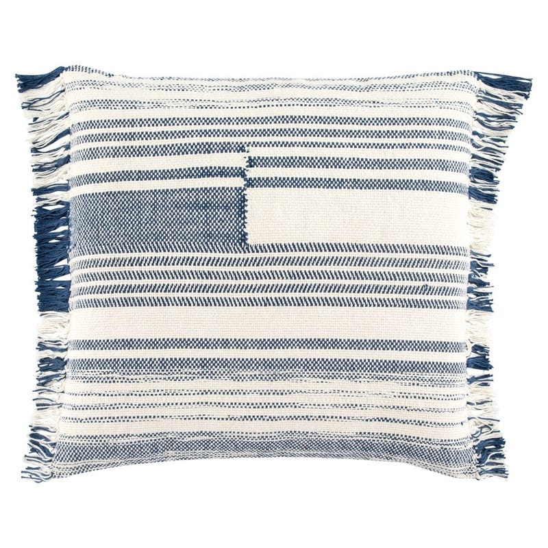 Nikki Chu by Jaipur Living Bonsai Stripes Throw Pillow