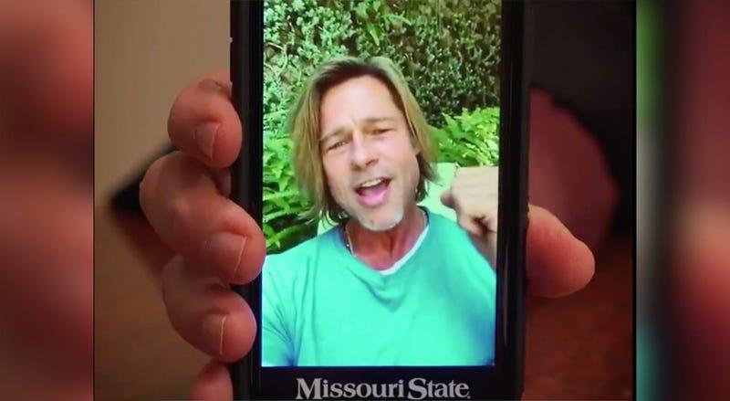 Brad Pitt, Missouri State