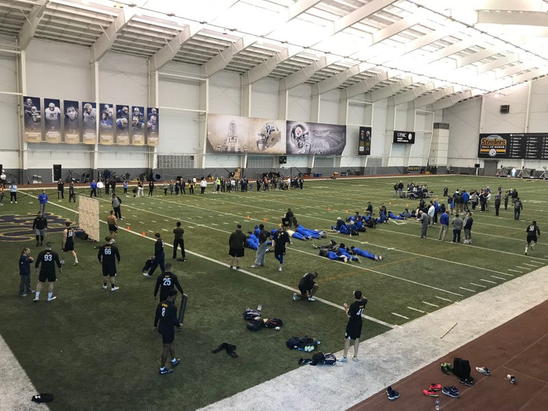 Pitt Football Pro Day in 2019
