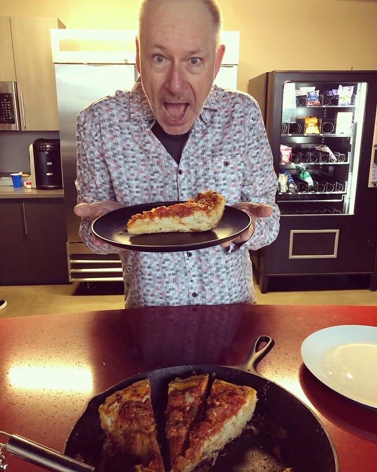 deep dish pizza BJ