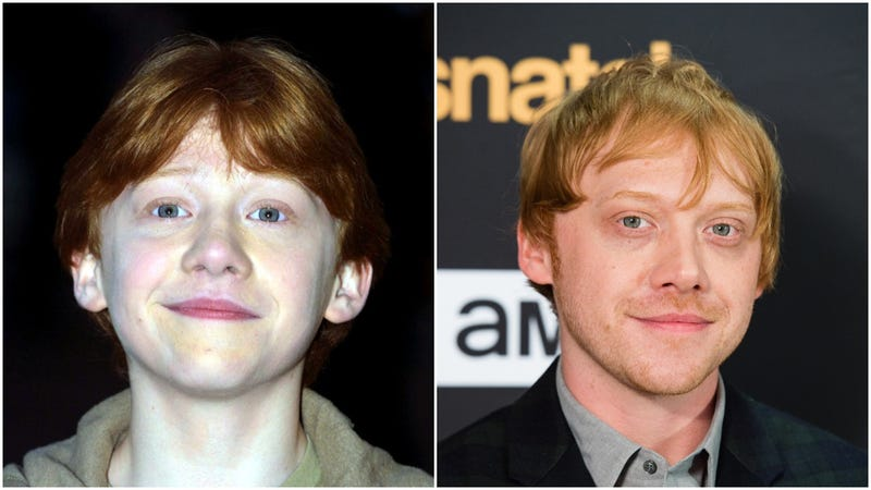 rupert grint ron weasley then and now