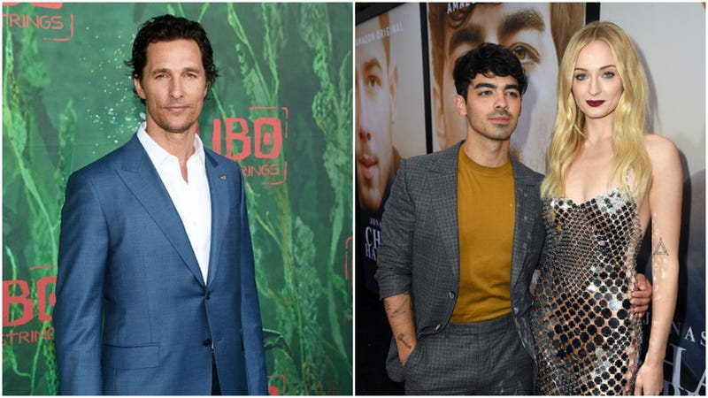 Matthew McConaughey Gives Joe Jonas and Sophie Turner a Tour of Austin