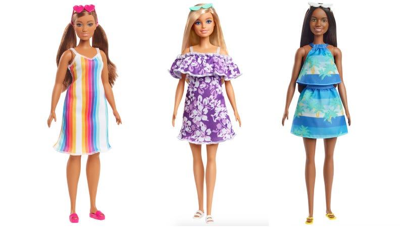 Barbie Loves the Ocean dolls