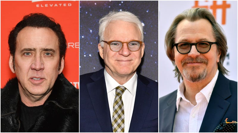 nicolas cage, steve martin, and gary oldman were among the big names considered for the film