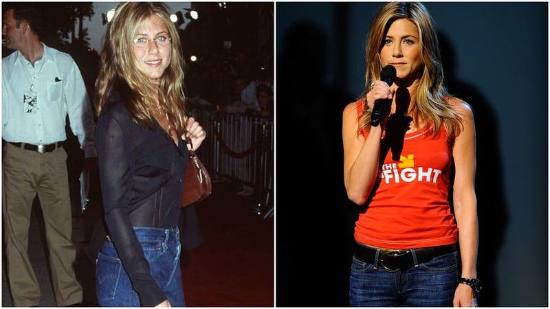 The everyday denim look for Jennifer Aniston