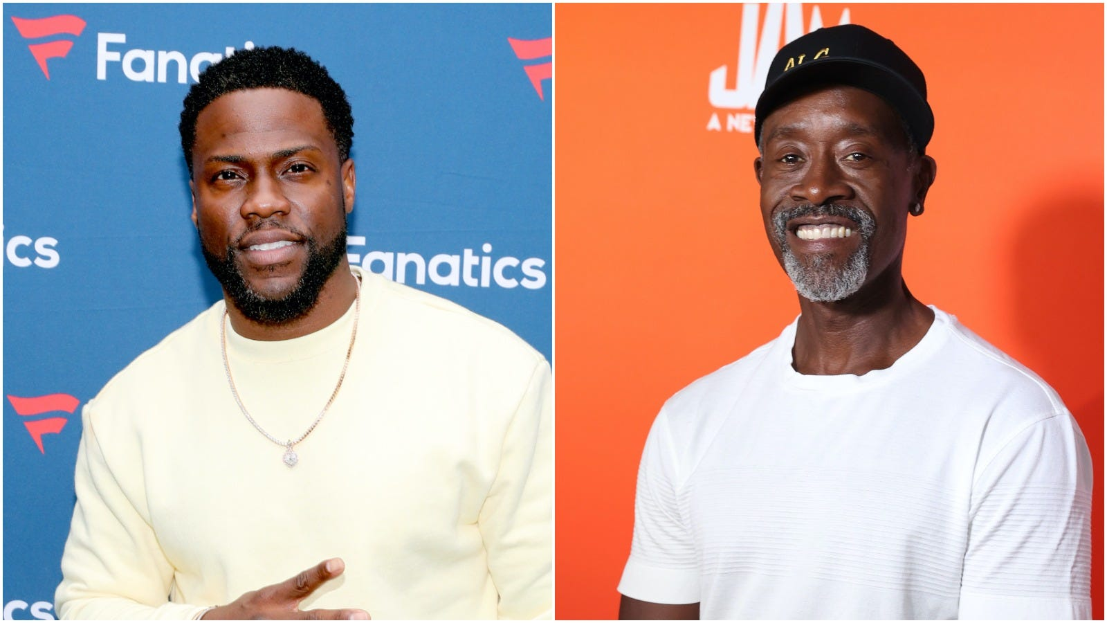 Kevin Hart's unfiltered reaction to learning Don Cheadle's age goes viral: 'Damn!'