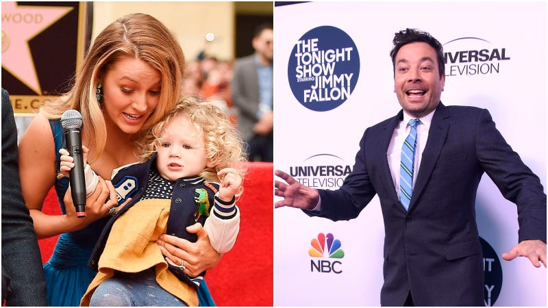 blake lively, daughter james and jimmy fallon